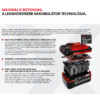 Einhell 18V 4-6 Ah Multi-Ah PXC akkumulátor
